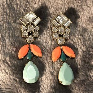 J Crew chandelier earrings